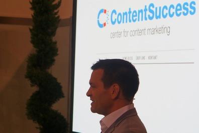 Dave Hertig stellt ContentSuccess vor (SuisseEmex 2015 Messe)