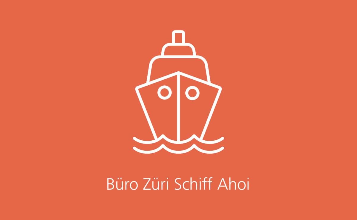 Teaser Büro Züri Schiff Ahoi